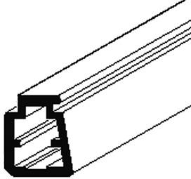 Profili singoli a coda di rondine