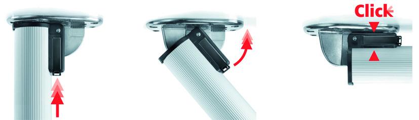 Tisch-Klappfüsse ø 50 mm CAMAR