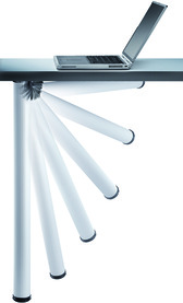 Pieds de table rabattables ø 50 mm CAMAR