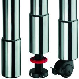 Roulettes  pour pieds de table ø 60 mm CAMAR