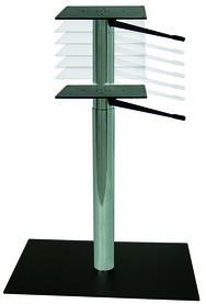 Piedi per tavolino alto con regolazione dell'altezza a gas