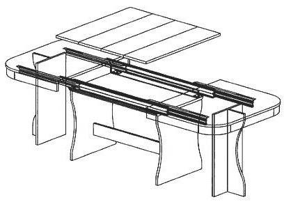 Coulisses de tables