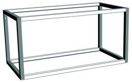 Cadre de base et d'extension système d'étagères ONE