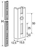 Wandschienen ELEMENT-SYSTEM CLASSIC 50 / 10000