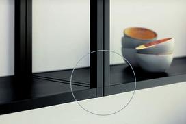 Elementi di collegamento sistema di ripiani Smartcube