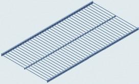 Vassoi in filo di ferro element system 10718 for Element system mensole