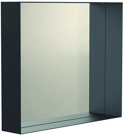 Specchio con telaio di deposito UNU FROST