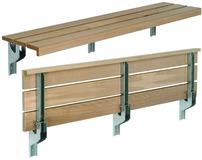 Sitzbank-Konsolen MAKK für Schulen, Sporthallen, usw.