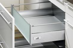 Innenauszug 200 TopSide Zargensystem HETTICH InnoTech, silber, Zargenhöhe 144 mm