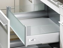 Innenauszug 200 DesignSide Zargensystem HETTICH InnoTech, silber, Zargenhöhe 144 mm