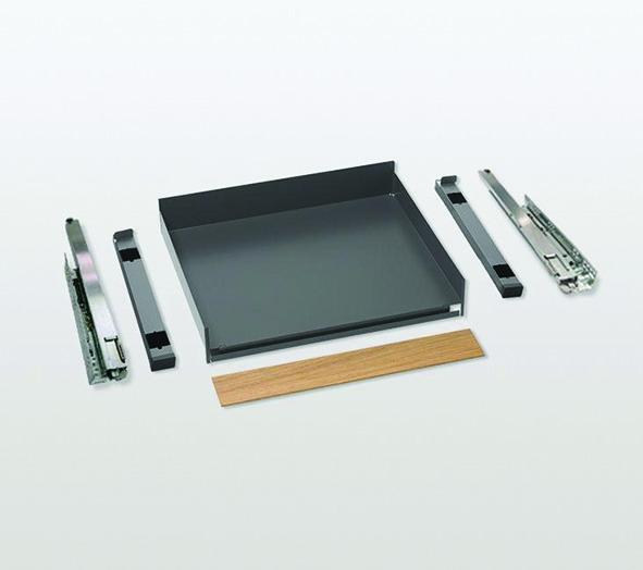 Tablette coulissante PEKA Extendo Fioro Complet, rail haute