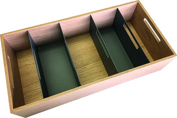 Divideur en U avec poignée boîte 1+2 MOVE