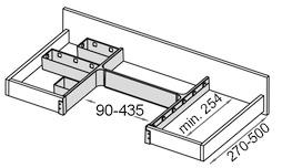 Siphon-Behälter-Garnitur Banio