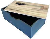 Universal BROTBOX Schubladen-Einsatz, anthrazit