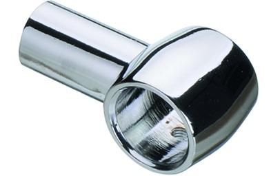Supports de tube rail ø 16 mm, chromé
