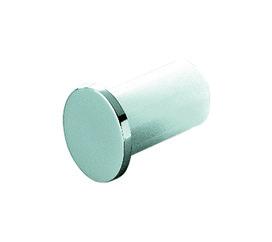 Embouts rail tube ø 16 mm, chromé