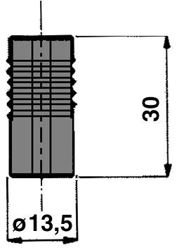 Perno per raccordi tubo ø 16 mm