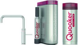 Kombinierte Heisswasserarmatur QUOOKER PRO3&CUBE Fusion Square