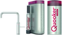 Kombinierte Heisswasserarmatur QUOOKER COMBI+& CUBE Fusion Square