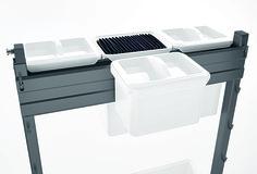 UBOXX Messer- und Rüstbretthalter PEKA