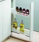 Roulements à double extension de façade pour armoires basses PEKA Snello 150/200