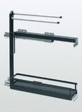Roulements à double extension de façade pour porte-linges PEKA Style 150
