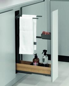 Handtuch-Frontvollauszug PEKA Snello Fioro
