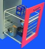 Roulements à double extension de façade pour paniers en fil et casseroles ELFA