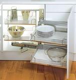 Ferramenta scorrevole per angoli cucine 90° PEKA Magic-Corner Standard
