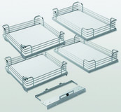 Einhängetablar-Set KESSEBÖHMER Arena Classic zu Magic Corner Comfort