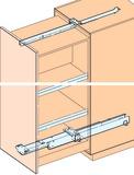 Ferramenta per colonne estraibili EKU-FORTE per costruzioni in legno