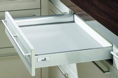 Ringhierina longitudinale sistema di spondine HETTICH InnoTech, argento, altezza spondine 70 mm