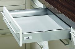 Titoir système de châssis HETTICH InnoTech, argent/blanc, hauteur de châssis 70 mm