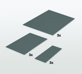 Antirutschmatten-Set PEKA Standard Fioro