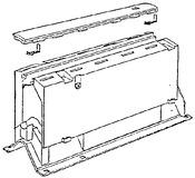 Beschlagbox NINKA MONDO 90° mit Schieber