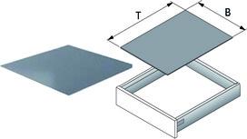 Tappetini antiscivolo AGO-Solid tagliato in misure fisse per larghezza ArciTech