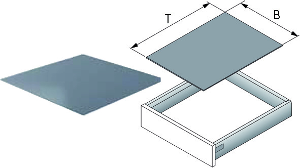 Tapis antidérapant AGO-Solid découpe à des dimensions fixes pour largeur ArciTech