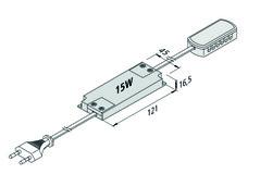 Trasformatori per LED 24 V / 15 W