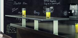 Mensole per bar Korfu angolare 60/10 mm, dritto