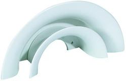 Supporto per tubi flessibili e cavi, bianco