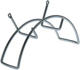 filo d'acciaio verniciato bianco RAL 9003