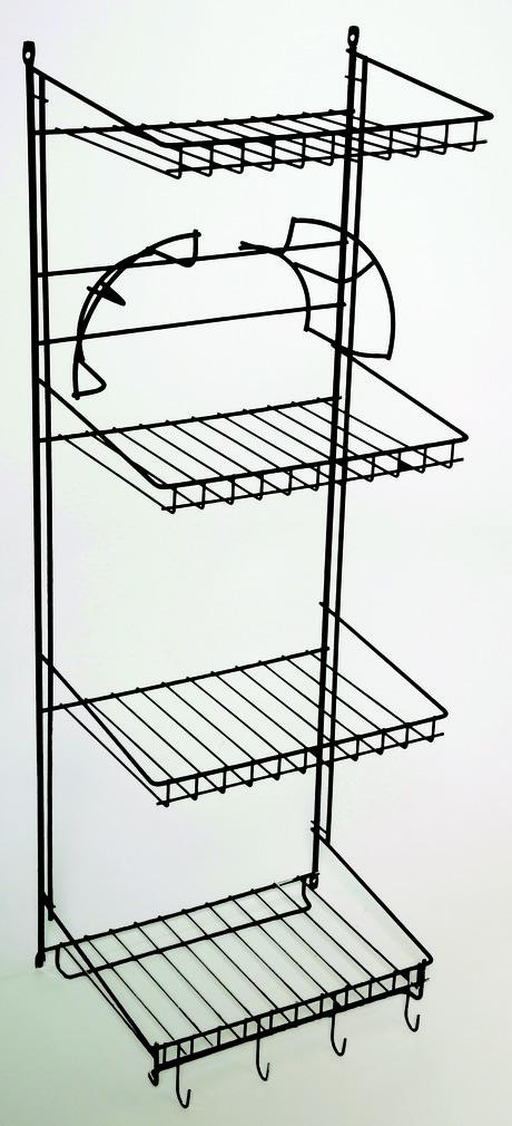 Casiers pour armoires en fil optionnel avec panier en fil métallique extractible, blanc