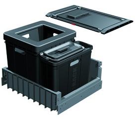 Secchio per rifiuti sistema estraibile FRANKE-Sorter Serie 300 R Composta