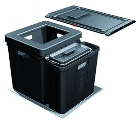 Sistema rifiuti FRANKE-Sorter Serie 350 Composta per BLUM / GRASS / HETTICH
