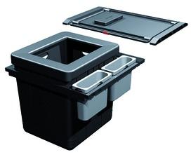 Kehrichtsystem FRANKE-Sorter Serie 350 H Varia für BLUM Tandembox