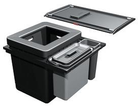 Kehrichtsystem FRANKE-Sorter Serie 350 H Composta 60 für BLUM Tandembox