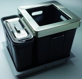 Sistema rifiuti Eisinger-Sorter Serie 350 Composta per BLUM / GRASS / HETTICH
