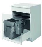 PEKA systeme de tri des déchets OekoUniversal 40+6+1.2