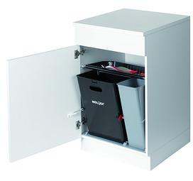 Poubelles système pivotant MÜLLEX KIPP 35/17