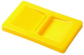 Coperchio per recipiente piccolo, giallo